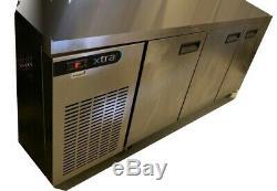 Foster XR3H 3 Door Undercounter Prep Fridge length 1775mm