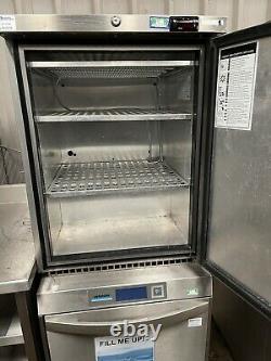 Foster stainless steel LR150 under counter freezer £400 + vat
