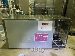 Foster under-counter double door fridge, ON CASTORS FROM KAMRUL