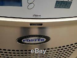 Foster under counter double door fridge stainless steal work top prep fridge A+