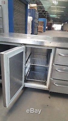 GRAM Counter Fridge Pizza Food Prep Fridge Chiller Under Counter