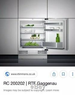Gaggenau RC200 202 Under Counter Integrated Fridge ESSEX