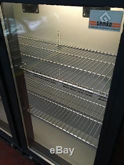 Gamko 2 Door Under Counter Drinks Display / Bar Chiller/ Cooler/ Fridge