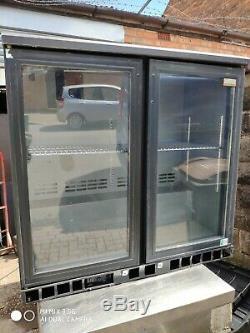Gamko Under counter commercial double door glass fridge bottle cooler