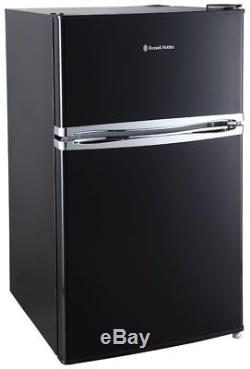 Graded Russell Hobbs RHUCFF50B 50cm Wide Black Under Counter Fridge Freezer