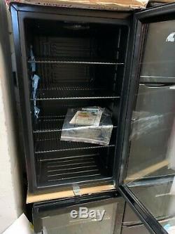 Graded glass fronted drinks fridge Cooler 98 Litre Black COLLECTION ONLY beer