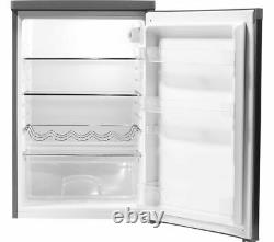 HOOVER HFLE54XK Undercounter Fridge 125L Wine Rack Stainless Steel Currys