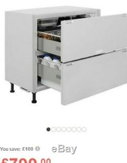HOTPOINT NCD191I 150 Litre Integrated Under Counter Fridge Drawers A+ Energy