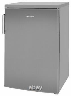 Hisense RL170D4BCE Free Standing 132L A++ Under Counter Fridge Stainless Steel
