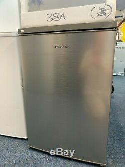 Hisense Under Counter Fridge 60 Cm wide in Brushed Stainless 9063