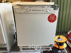 Hoover HBRUP 160 NK 133 LITRE INTEGRATED UNDER COUNTER FRIDGE WHITE RRP £369