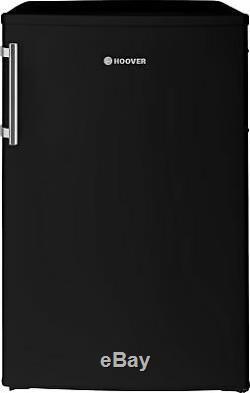 Hoover HL54BH 125L A+ Free Standing Under Counter Larder Fridge Black