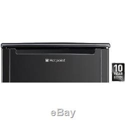 Hotpoint CTL55K 85x55cm 133L Freestanding Under Counter Fridge Black CTL55K
