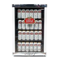 Husky HU218 Freestanding Official Stella Artois Drink Fridge with A+ Energy
