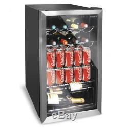 Husky HUS-HM39 Under Counter Wine Chiller, Beer Drinks Fridge, Wine Bottles PWW