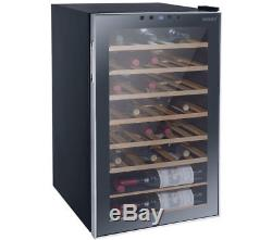 Husky HUS-HN10 Reflections Under Counter 34 Wine Chiller Drinks Fridge Black