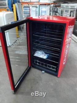 Husky HY211 Coca Cola Under Counter Drinks Chiller / Glass Display Fridge PWB
