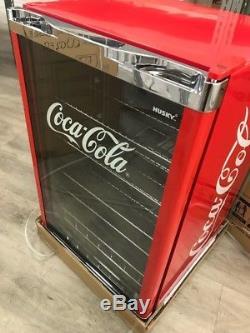 Husky HY211 Coca Cola Under Counter Fridge Bradn new, Scratch to Top of Unit