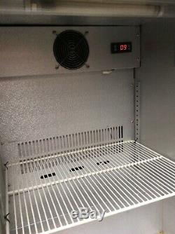 Husky Under Counter Fridge Backbar Cooler Glass Door Model HUS-C1-HY