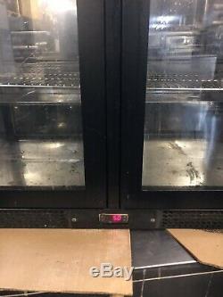 IMC UNDER COUNTER DOUBLE DOOR FRIDGE, SLIDING DOORS IN FWO, 2 In Stock