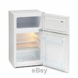 IceKing IK2022AP 47cm Under Counter A+ Energy Rated Fridge Freezer in White