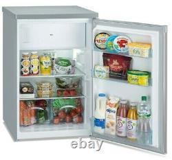 IceKing RHK551SE Under Counter Fridge with Freezer Box Freestanding Fridge