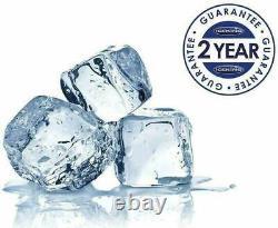 IceKing RHK551WE 55cm Freestanding Under Counter Fridge with Freezer Box White