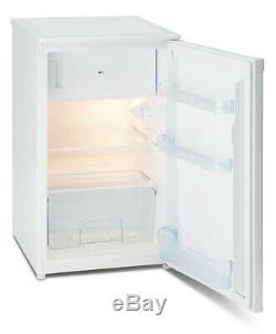 IceKing RK104AP2 50cm Undercounter Freestanding Fridge (White with Ice box)