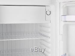 IceQ 95 Litre Slimline Undercounter White Fridge 47cm Wide With IceBox