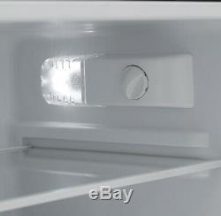 Iceking IK2023K 48cm Undercounter Fridge Freezer A+ Energy Rating Black