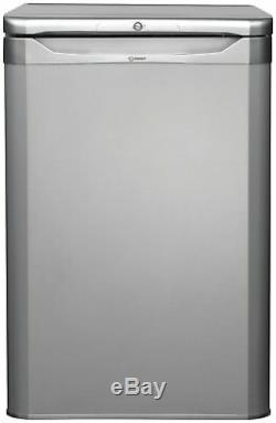Indesit TFAA10SI Free Standing 111L A+ Under Counter Fridge Silver