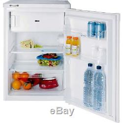 Indesit TFAA10 A+ 96 Litres Under Counter Fridge with Freezer Box in White New