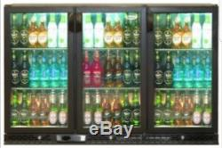 Infrico Tripple Door Commercial Undercounter Drinks Chiller Fully Working In