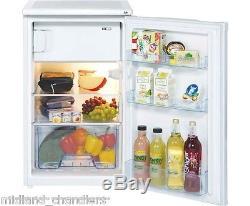 Inlander LEC Fridge/Ice Box, White, Reversible Doors, 12v/24v, Undercounter RIR405W
