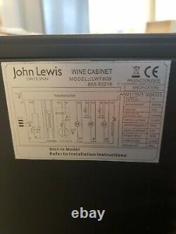 John Lewis JLWF608 Wine Cabinet Cooler 38 Bottle Fridge RRP £699