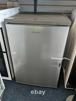 KENWOOD Freestanding Under Counter Fridge 56cm 133 litres KUL55X20 Silver Inox