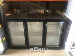 Kool Under Counter 3 Door Bar Fridge 134x50xh90cm
