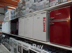 LEC T50084W White Under Counter Fridge Freezer T50084 PLU PFF