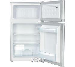 LOGIK LUC50S17 70/30 Undercounter Fridge Freezer Silver