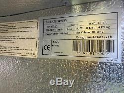 Lec Cbh419sv Under Counter Single Glass Door Drinks Display Fridge Chiller