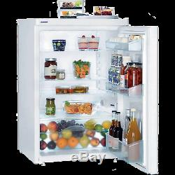 Liebherr T1700 55cm Wide Under Counter Larder Fridge in White A+ 3 Shelves