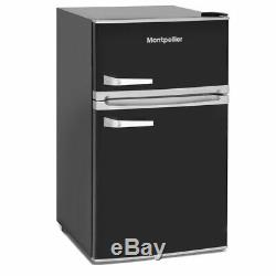 MAB2031K 88litre Mini RETRO Fridge Freezer Class A+ Black