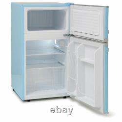 MAB2031PB 88litre Mini RETRO Fridge Freezer Class A+ Pure Blue