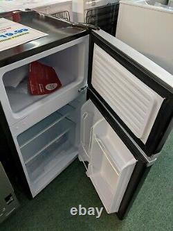 MONTPELLIER Retro 1950's Under counter Fridge Freezer 2 Door A+ MAB2031K Black
