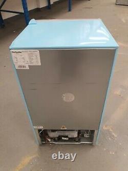 MONTPELLIER Retro MAB2035PB Undercounter Fridge Freezer Pastel Blue Grade B
