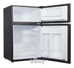 Mini Fridge Freezer Office Dorm Refrigerator Small Compact Cooler Food Storage