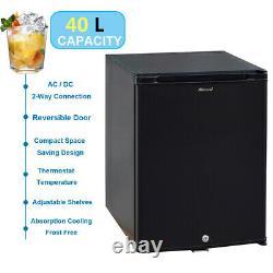 Mini Refrigerator Semi Truck AC DC Fridge 40L 12V Under Counter Larder Fridge