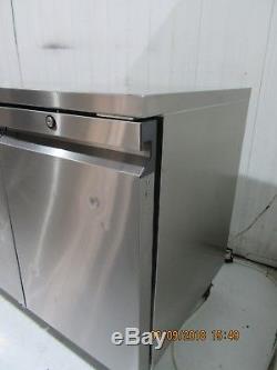 Mobile Williams 3 Door Stainless Steel Under Counter Fridge