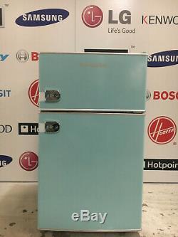 Montpellier MAB2030PB Mini Retro Freestanding Fridge Freezer Blue 10094