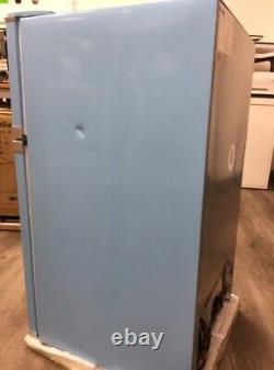 Montpellier MAB2031PB Under Counter Blue Retro Fridge Slight Damage, Collect